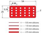 硅胶隔离贴片(Silicone Isolators™)
